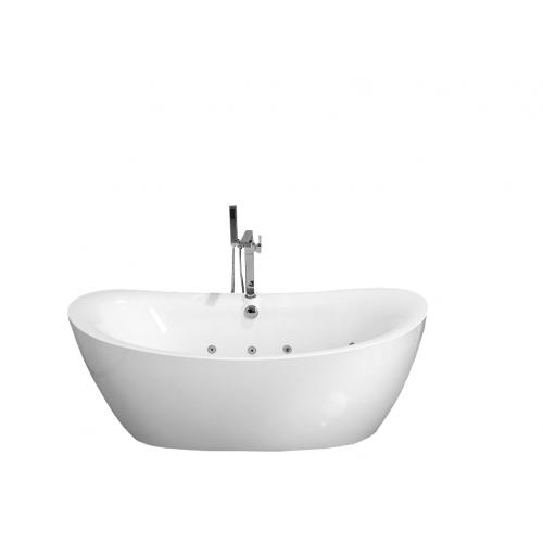 Ванна Frank F162 отдельностоящая Размер:180*85*68см